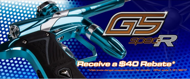 G5 Spec-R Rebate